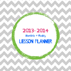 Monthly + Weekly Lesson Planner
