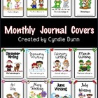Monthly Writing Journal Covers Full Page