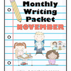 Monthly Writing Packet: November