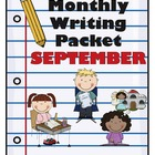 Monthly Writing Packet: September