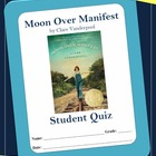 Moon Over Manifest by Clare Vanderpool Full Book Quiz