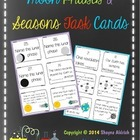 Moon Phases and Seasons Task Cards