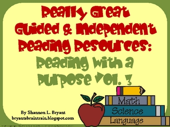 More Guided & Independent Reading: Reading with a Purpose Vol. 3