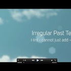 More Irregular Verbs Quick Time movie