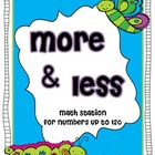 More & Less Math Station