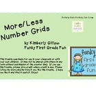 More/Less Number Grids
