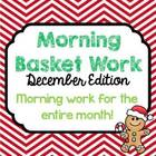 Morning Basket Work {December}