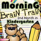 Morning Brain Train - Math & Literacy {Morning Work 2nd Mo