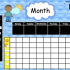Morning Calendar Routine Math SMARTBoard  83 Page Common Core