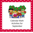 Morning Calendar Smartboard Activities September
