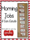 Morning Jobs: I Can Cards