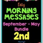 Morning Message: Year Bundle - 2nd Grade