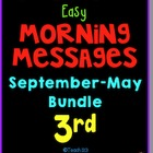 Morning Message: Year Bundle - 3rd Grade