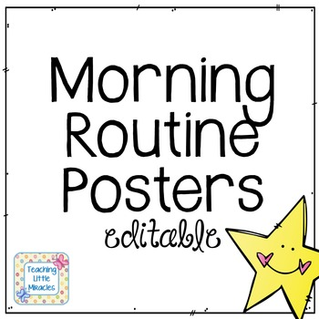 Morning Routine FREEBIE