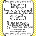 Morning Work & Data Journal