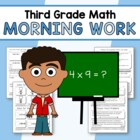 Morning Work Third Grade Math Common Core