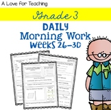 Morning Work Weeks 26-30