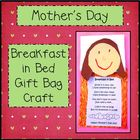 Mother's Day Breakfast in Bed Gift Bag
