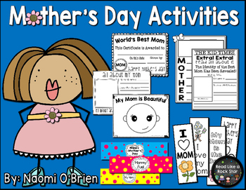 Mother's Day Craftivities