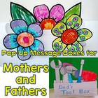 Mother's Day Craftivity,Pop-Up Message Flower Box