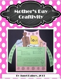 Mother's Day Craftivity Plus Print and Go Activities
