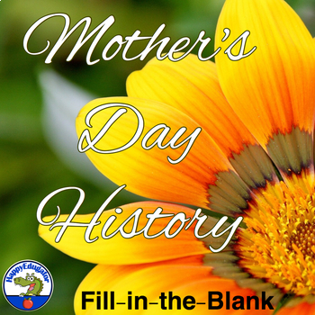 Mother's Day History Fill-In