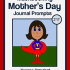 Mother's Day Mathbooking - Math Journal Prompts (2nd and 3