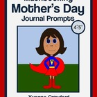 Mother's Day Mathbooking - Math Journal Prompts (4th and 5