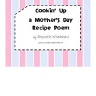 Mother's Day Recipe Poetry Project