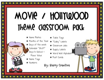 Movie / Hollywood Theme Classpack
