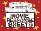Movie Response Sheets {Tie Literacy and Media}