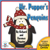 Mr. Popper's Penguins Teaching Novel Unit CD ~ Common Core