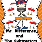 Mr.Difference and the Subtractors (Subtraction Practice)