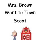 Mrs. Brown Went to Town ~ Scoot Game ~ Reading and Languag