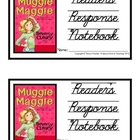 Muggie Maggie, by Beverly Cleary: Reader's Response Notebook