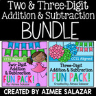 Multi Digit Addition and Subtraction Fun Pack {CCSS Aligned}