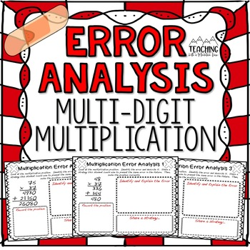 Multi-Digit Multiplication Error Analysis { Center, Enrichment, or Assessment }