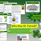 Multi-Leveled: ST. PATRICK Constructed Response Practice &