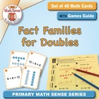 Multi-Match Cards: Fact Families for Doubles (Adding and S