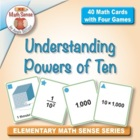 Multi-Match Cards: Understanding Powers of Ten (5.NBT.2)