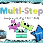 Multi-Step Problem Solving Task Cards - Grades 2-3