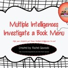 Multiple Intelligences Investigate a Book Menu