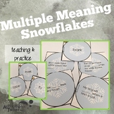 Multiple Meaning Snowflakes