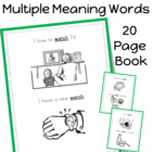 Multiple Meaning Words (20) Book