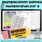 Multiplicando Por 6 - Spanish Multiplication Math Games/Le
