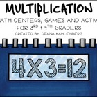 Multiplication {10 Games, Centers and Activities}