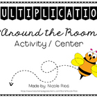 Multiplication Around the Room Activity/Center