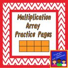 Multiplication Array Worksheet