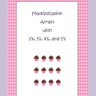 Multiplication Arrays Center Pack
