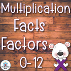 Multiplication Basic Facts 0-10's and 1-12's Practice Sheets